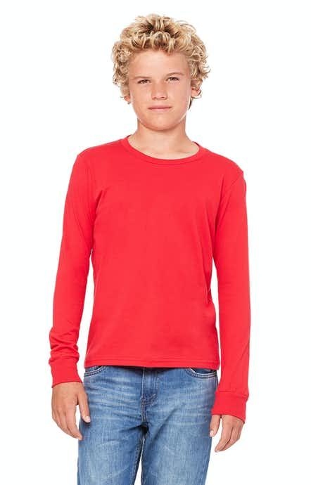 Bella+Canvas 3501Y Red