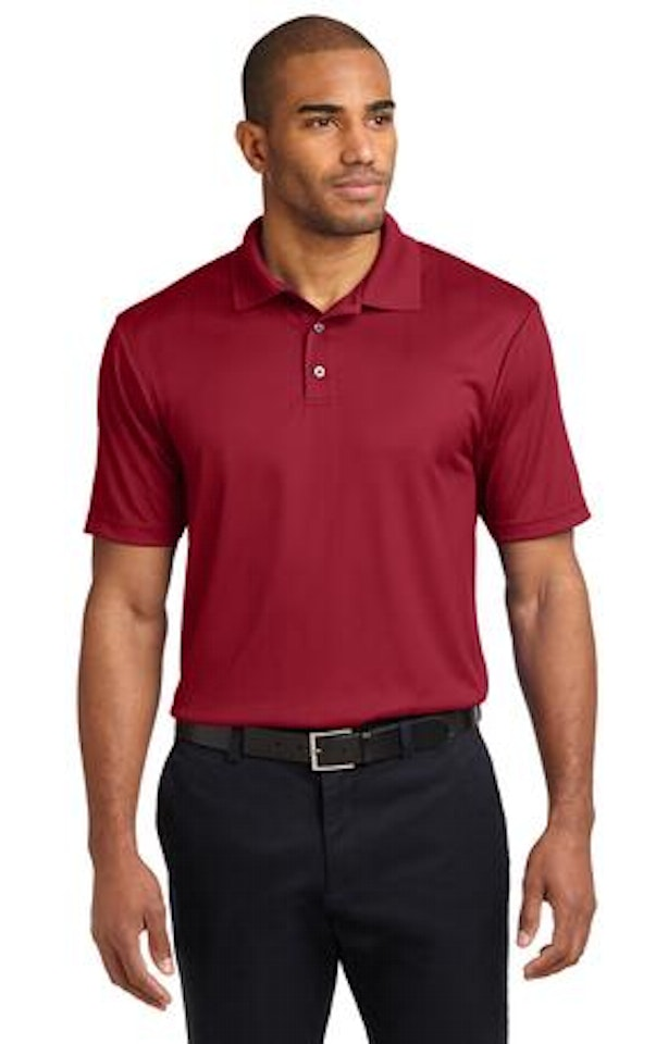 Port Authority K528 Rich Red