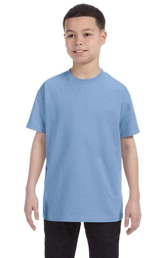 Hanes 54500 Light Blue