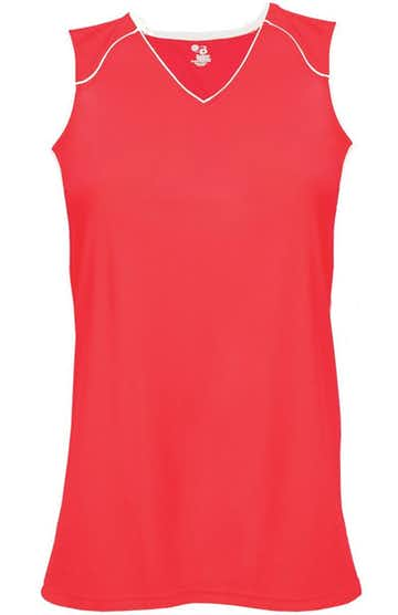 Badger 6172 Hot Coral / White