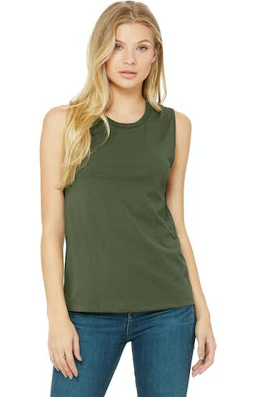 Bella + Canvas B6003 Military Green