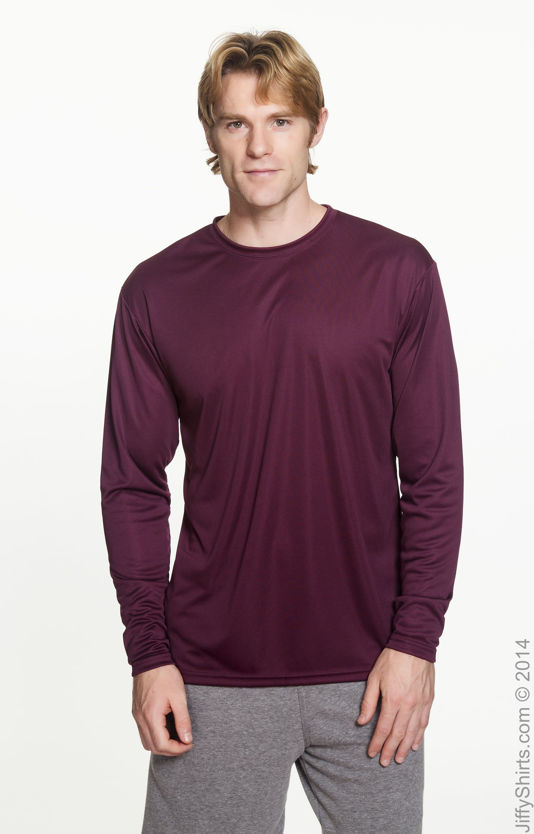Mens T-Shirt US Polo Tee Team 3 Player Casual Long Sleeve Cotton Top Adult S-XL