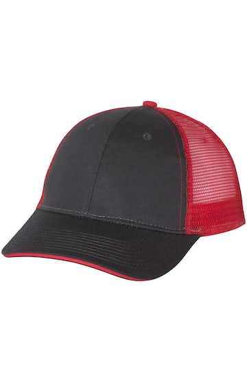 Valucap S102 Charcoal / Red