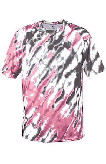 Badger 2182 Pink Tie Dri