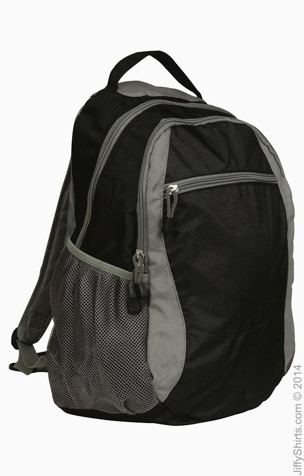 Liberty Bags 7760 Black / Gray