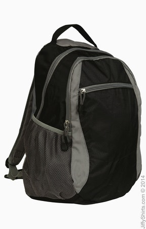 Liberty Bags 7760 Black/Grey