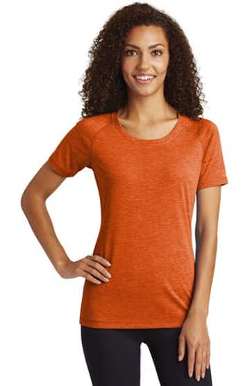 Sport-Tek LST400 Deep Orange Heather