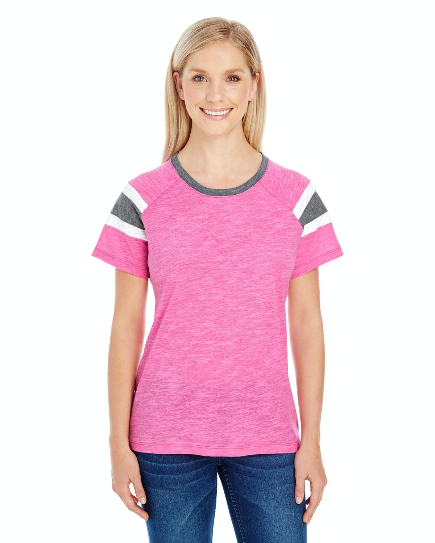 Augusta Sportswear 3011 Pw Pnk/ Slt/ Wht