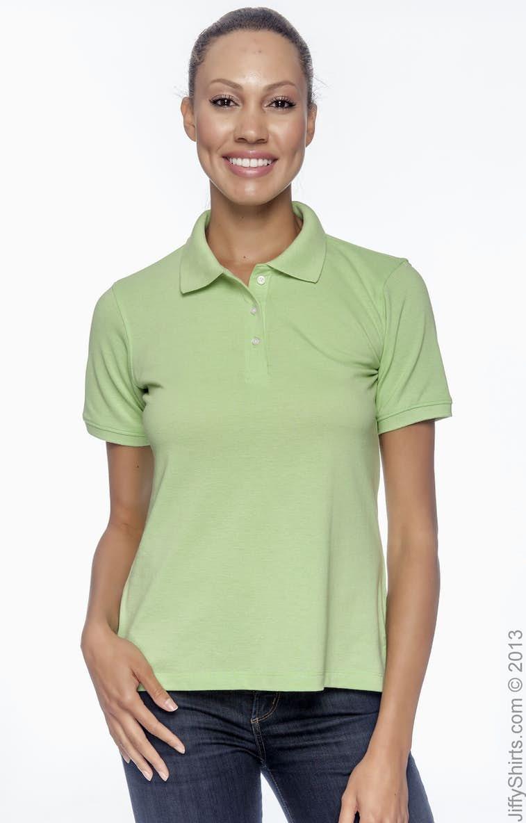 d9a8e691 Harriton M265W Ladies' 5.6 oz. Easy Blend™ Polo - JiffyShirts.com