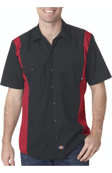 Dickies LS524 Black/English Red