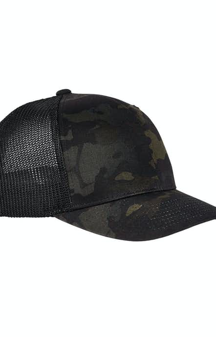 Yupoong 6511MC Black Multicam
