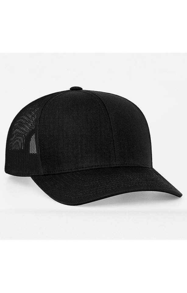 Pacific Headwear 0104PH Black/Black