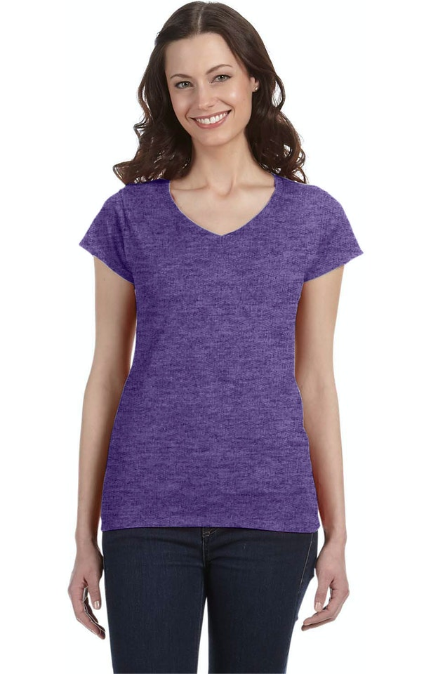 Gildan G64VL Heather Purple