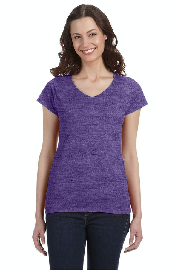 Gildan G64VL Heather Purple