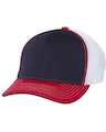 Richardson 172 Navy/ White/ Red Tri