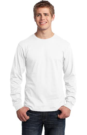Port & Company PC54LS White