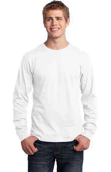 Port & Company PC54LS White