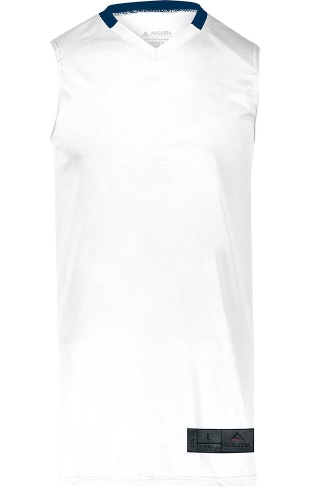 Augusta Sportswear 1731AG White / Navy