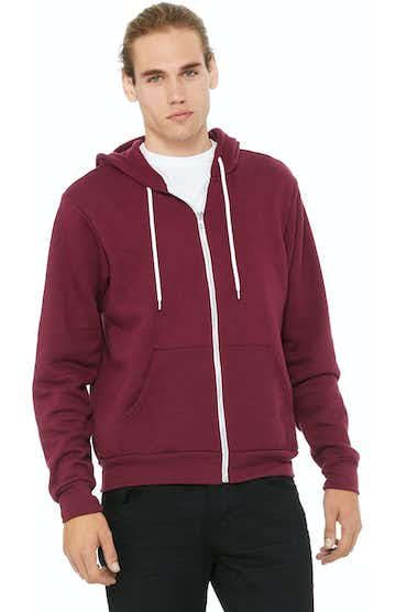 Bella + Canvas 3739 Maroon