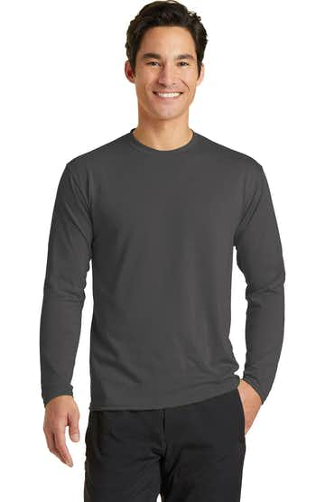 Port & Company PC381LS Charcoal