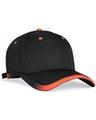 Pacific Headwear 0416PH Black/Orange