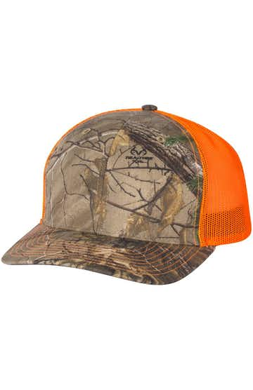 Richardson 112P Realtree Edge/ Neon Orange
