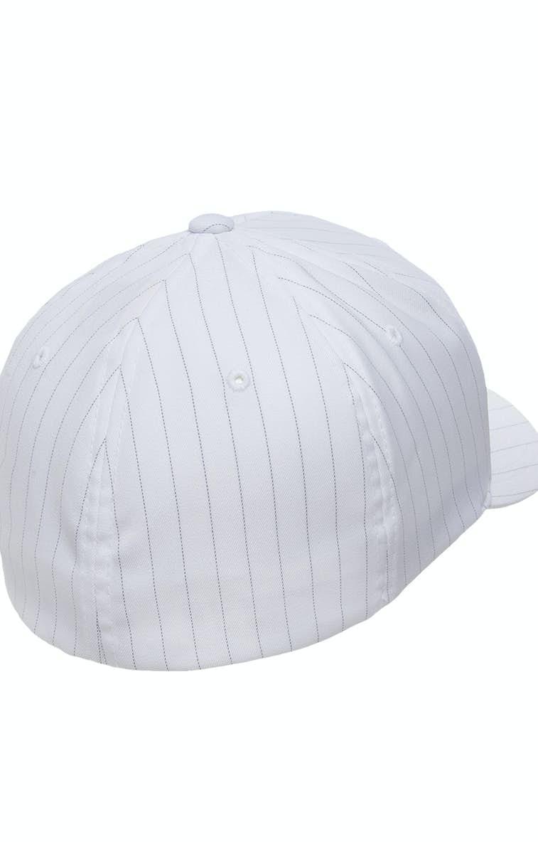 18a2175129bac Yupoong 6195P Flexfit Pinstripe Cap - JiffyShirts.com