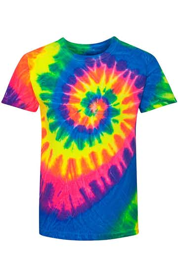 Dyenomite 20BMS Fluorescent Rainbow Spiral