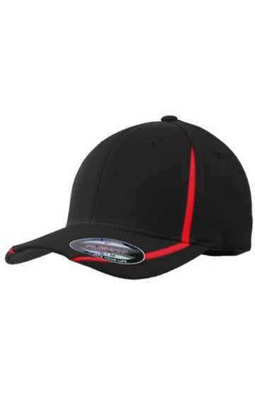 Sport-Tek STC16 Black / True Red
