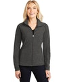Port Authority L235 Black Charcoal Heather