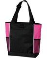 Port Authority B5160 Black / Tropic Pink