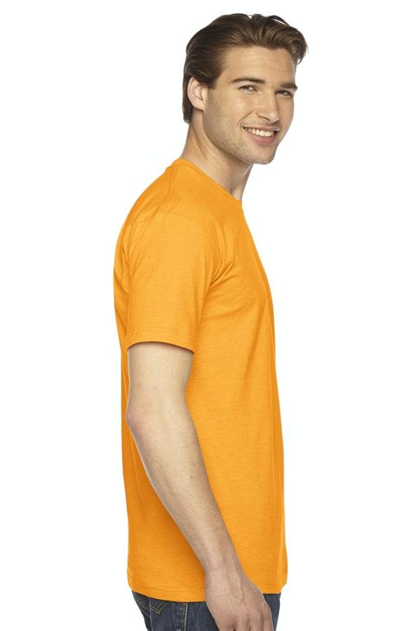 037e4459af49c American Apparel 2001W White Unisex Fine Jersey Short-Sleeve T-Shirt