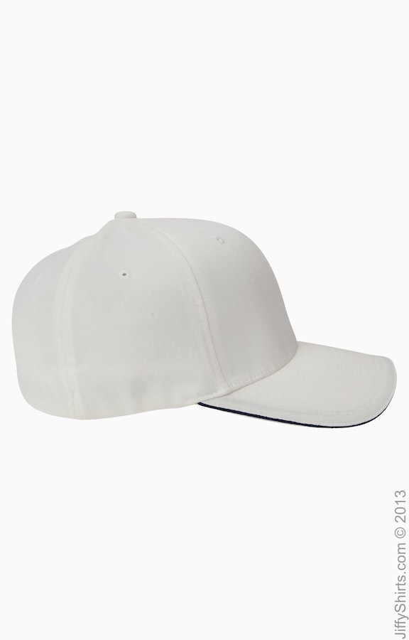 856b82b17b8690 Flexfit 6277V Adult Wooly Cap with Sandwich Bill - JiffyShirts.com