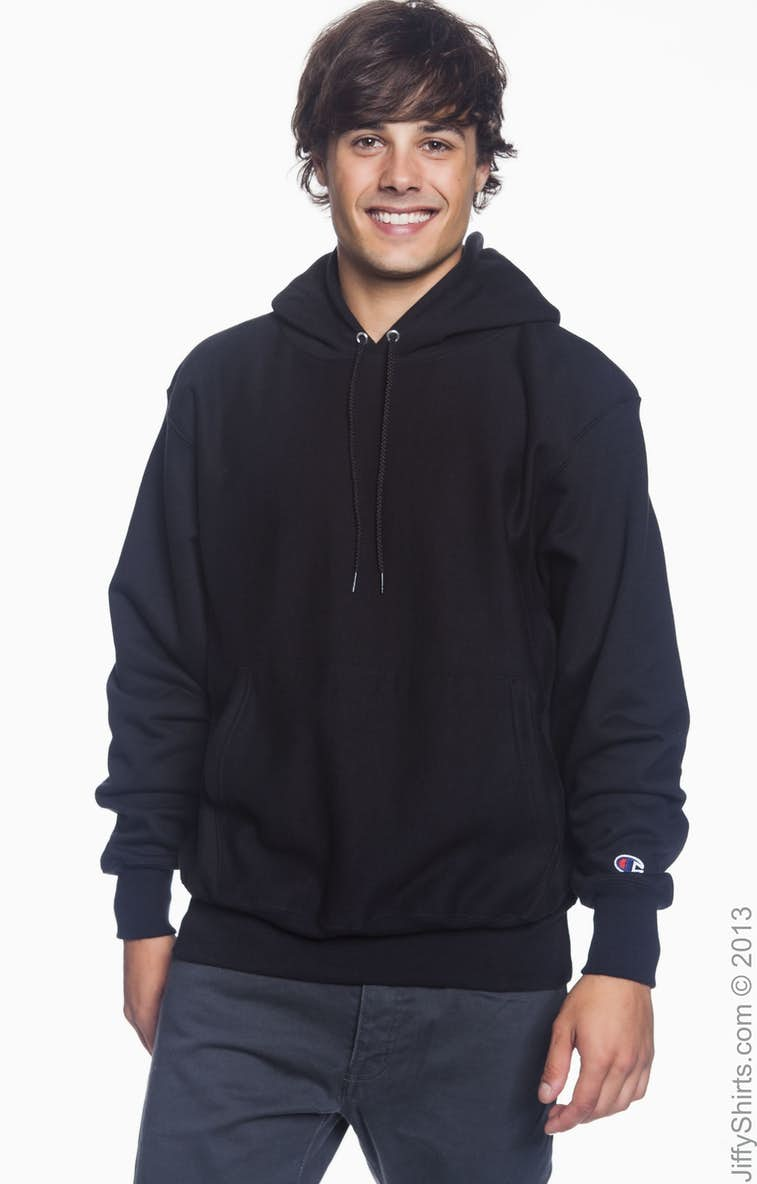 25d931d7 Champion S1051 Adult Reverse Weave® 12 oz. Pullover Hood - JiffyShirts.com