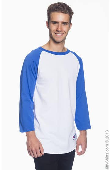 Champion T1397 White/Team Blue