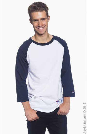 Champion T1397 White/Navy