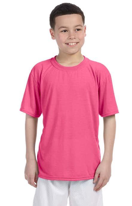 Gildan G420B Safety Pink