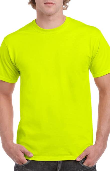 Gildan G500 High Viz Safety Green