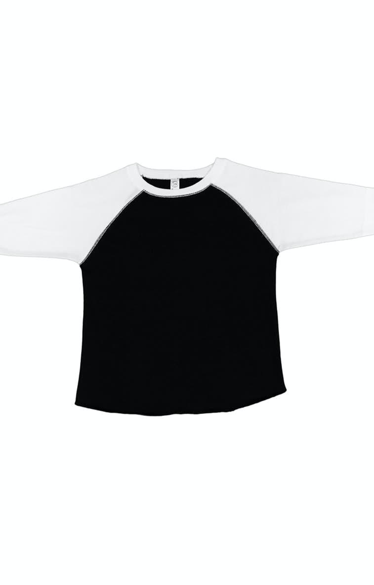 876ad48bf Rabbit Skins RS3330 Toddler Baseball Fine Jersey T-Shirt - JiffyShirts.com
