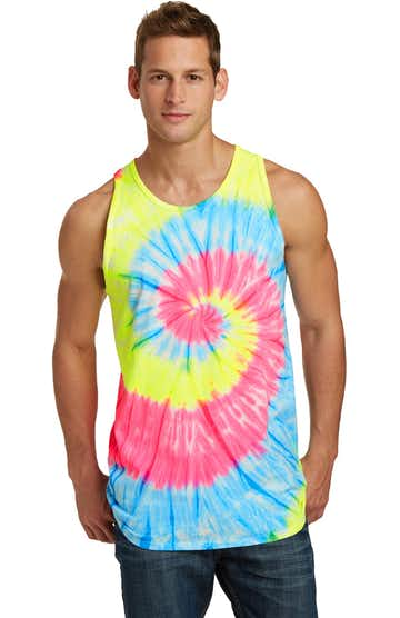 Port & Company PC147TT Neon Rainbow