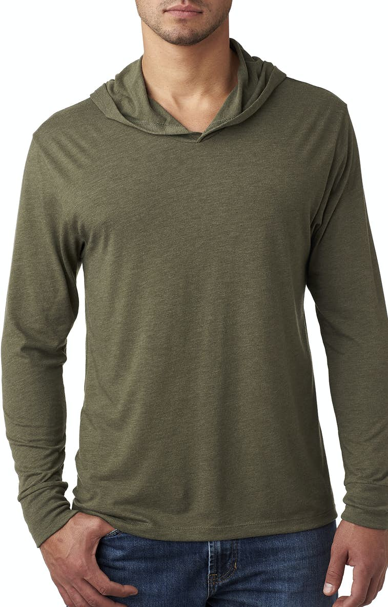 54cdb96b Next Level N6021 Adult Triblend Long-Sleeve Hoody - JiffyShirts.com