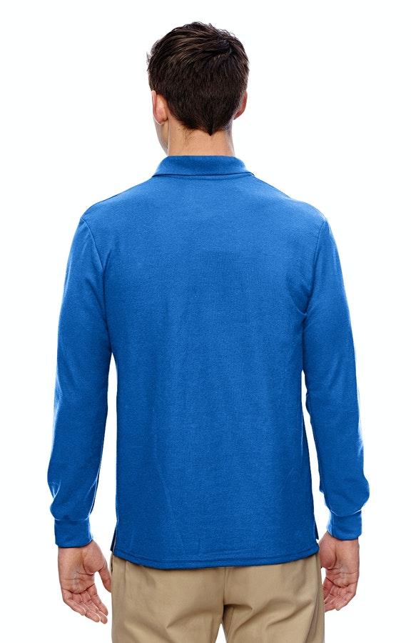 73e0fde8e Gildan G729 Adult 6 oz. Double Piqué Long-Sleeve Polo - JiffyShirts ...