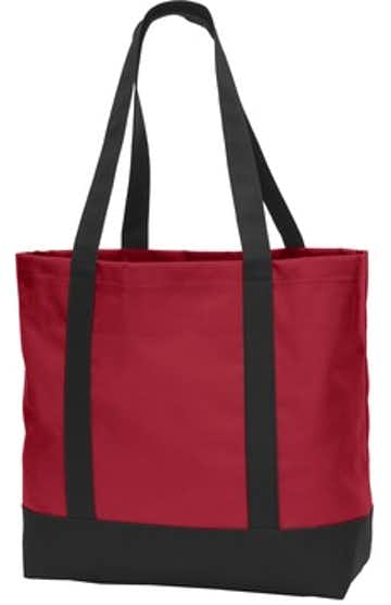 Port Authority BG406 Chili Red / Black