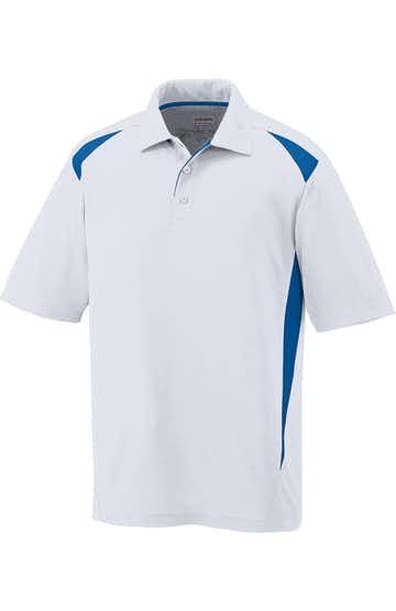 Augusta Sportswear 5012 White/Royal