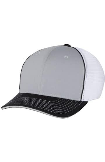 Richardson 172 Grey/ White/ Black Tri