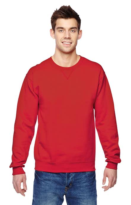 Fruit of the Loom SF72R Fiery Red