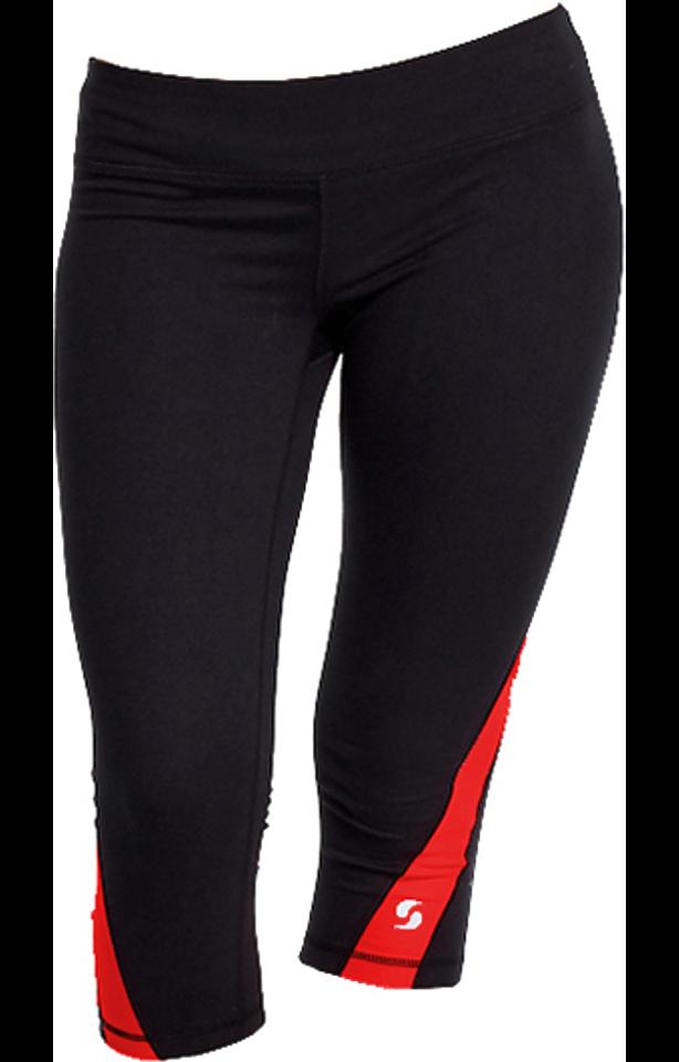Soffe 1186G BLACK/RED