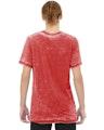 Bella + Canvas 3650 Red Acid Wash