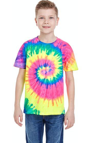 Tie-Dye CD100Y Neon Rainbow