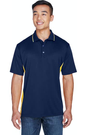 UltraClub 8406 Navy/ Gold